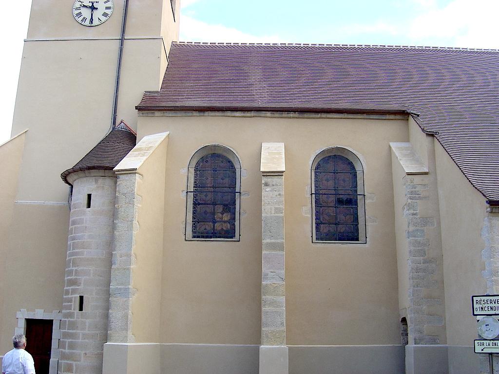 Église après travaux de toiture et d