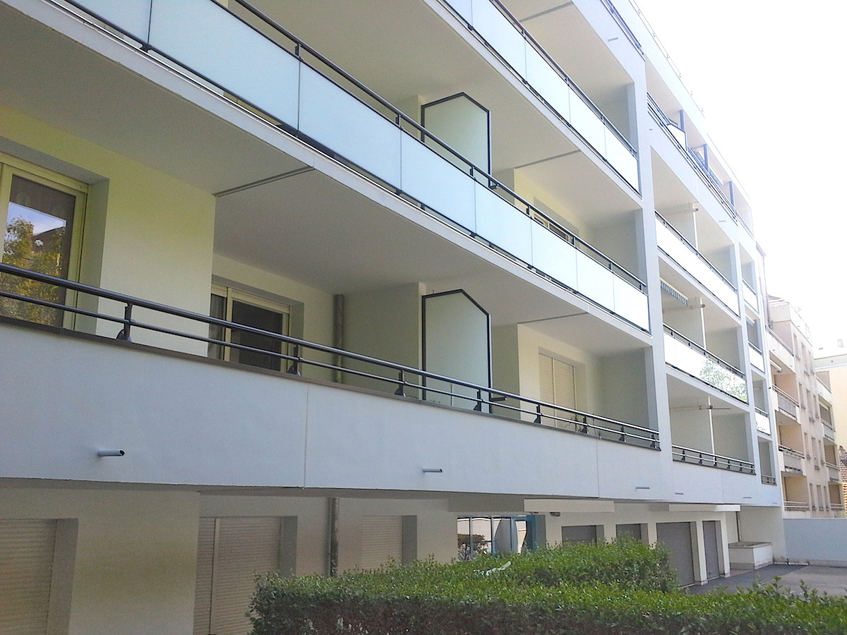 Changement Séparation balcon